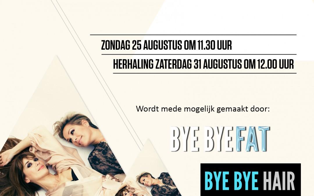 BYE BYE FAT op TV bij RTL4